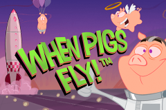 logo when pigs fly netent kolikkopeli