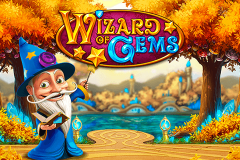 logo wizard of gems playn go kolikkopeli