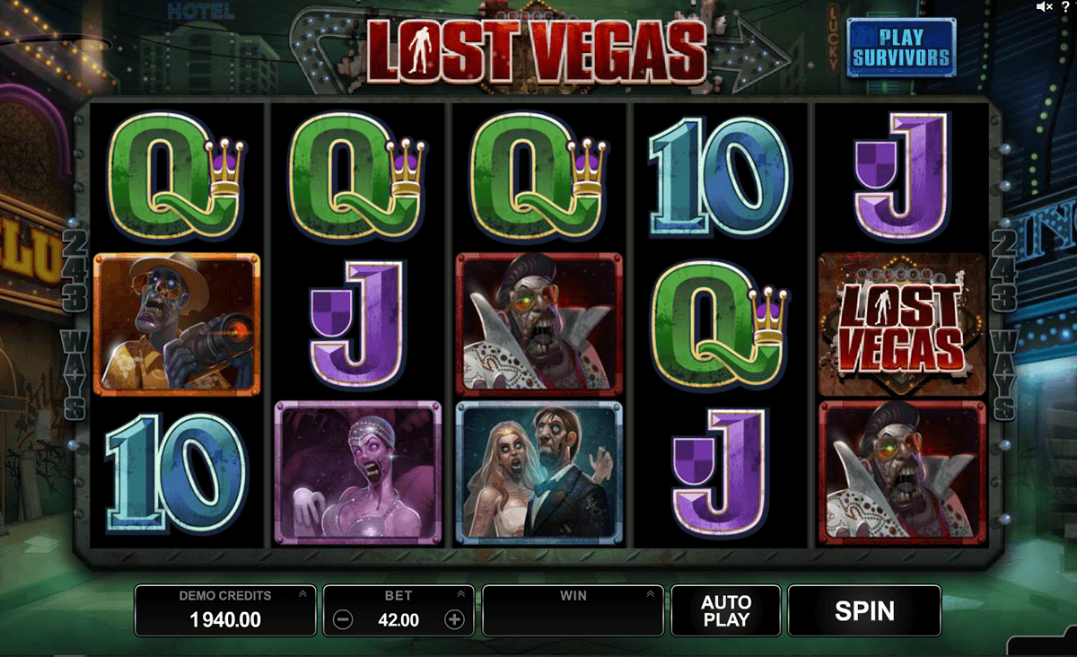 lost vegas microgaming casino