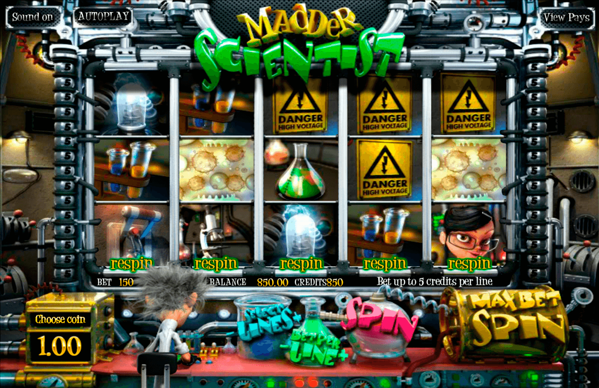 madder scientist betsoft casino