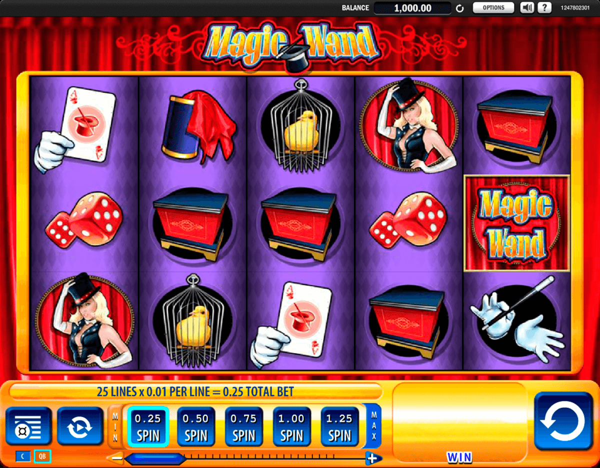 magic wand wms casino