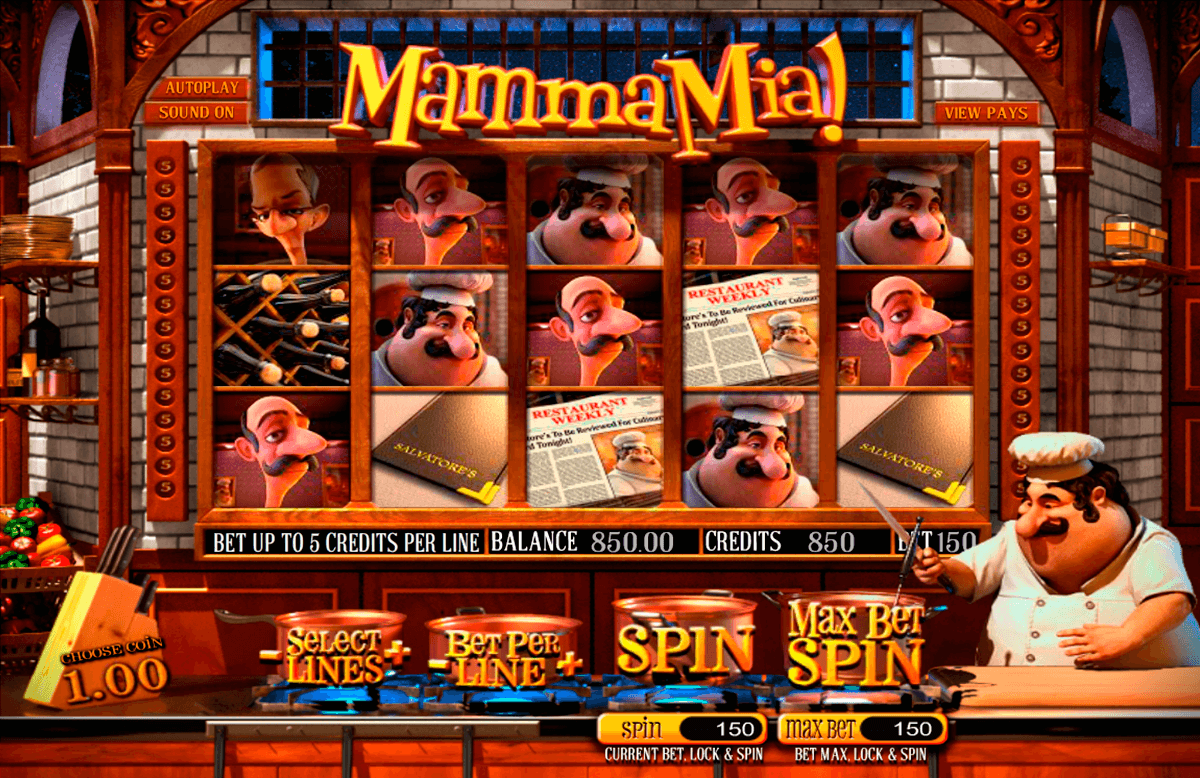 mamma mia betsoft casino
