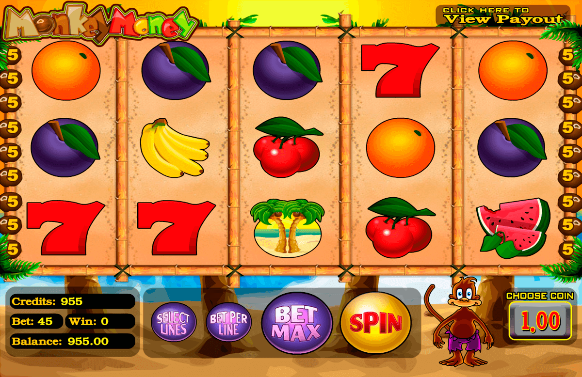 monkey money betsoft casino