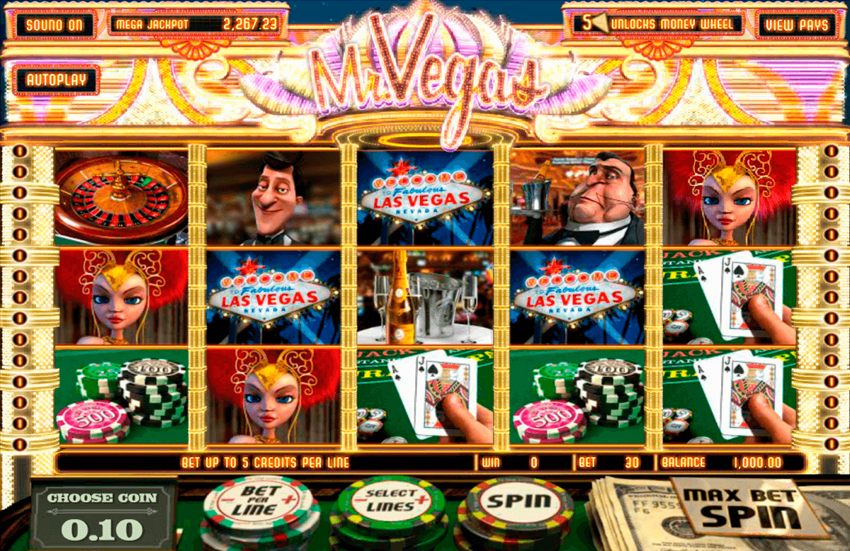 mr vegas betsoft casino