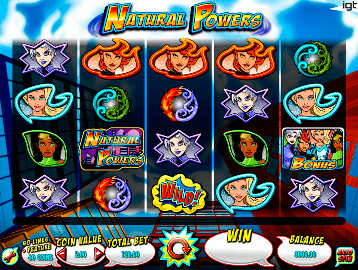 natural powers igt casino