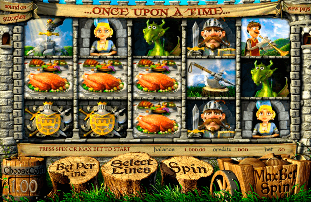 once upon a time betsoft casino