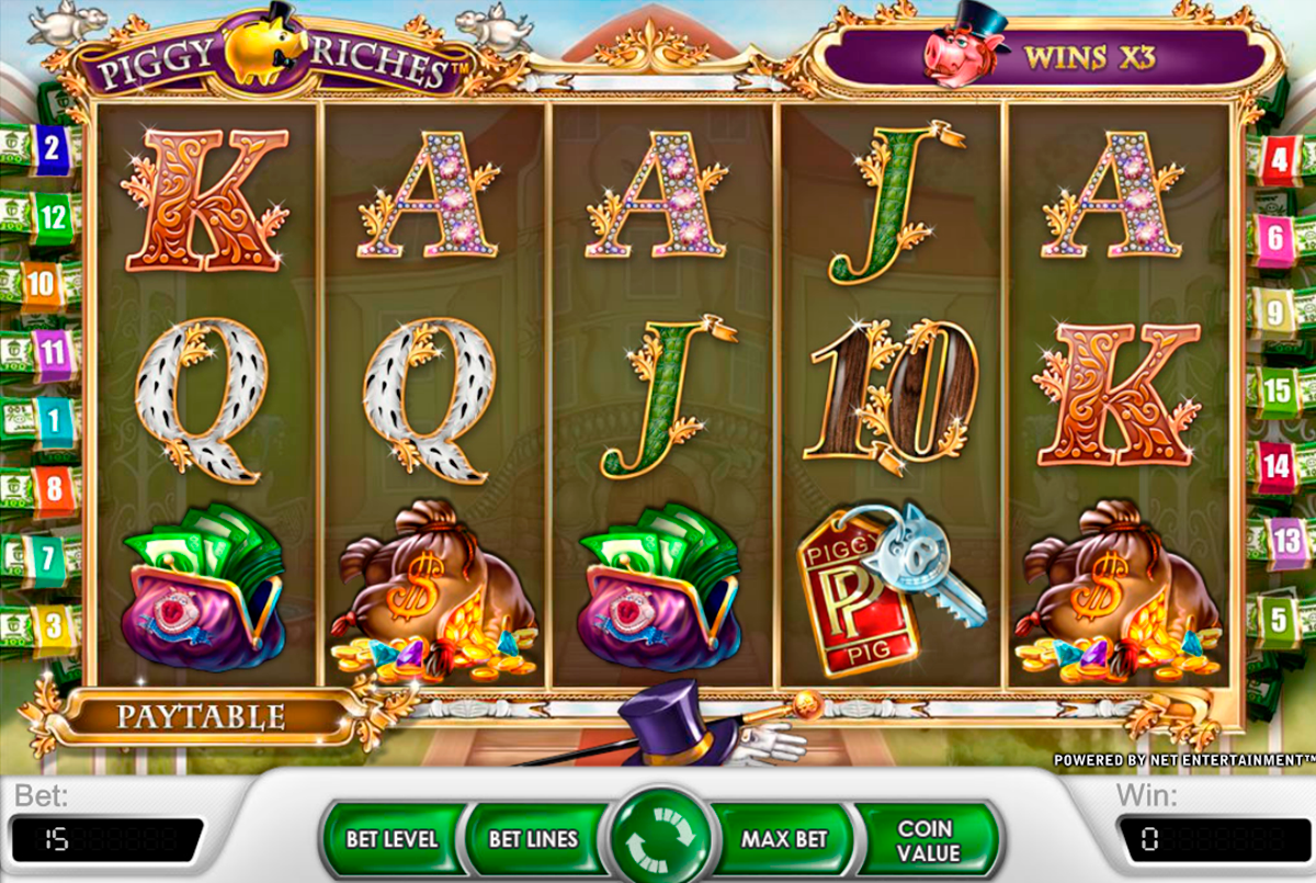 piggy riches netent casino