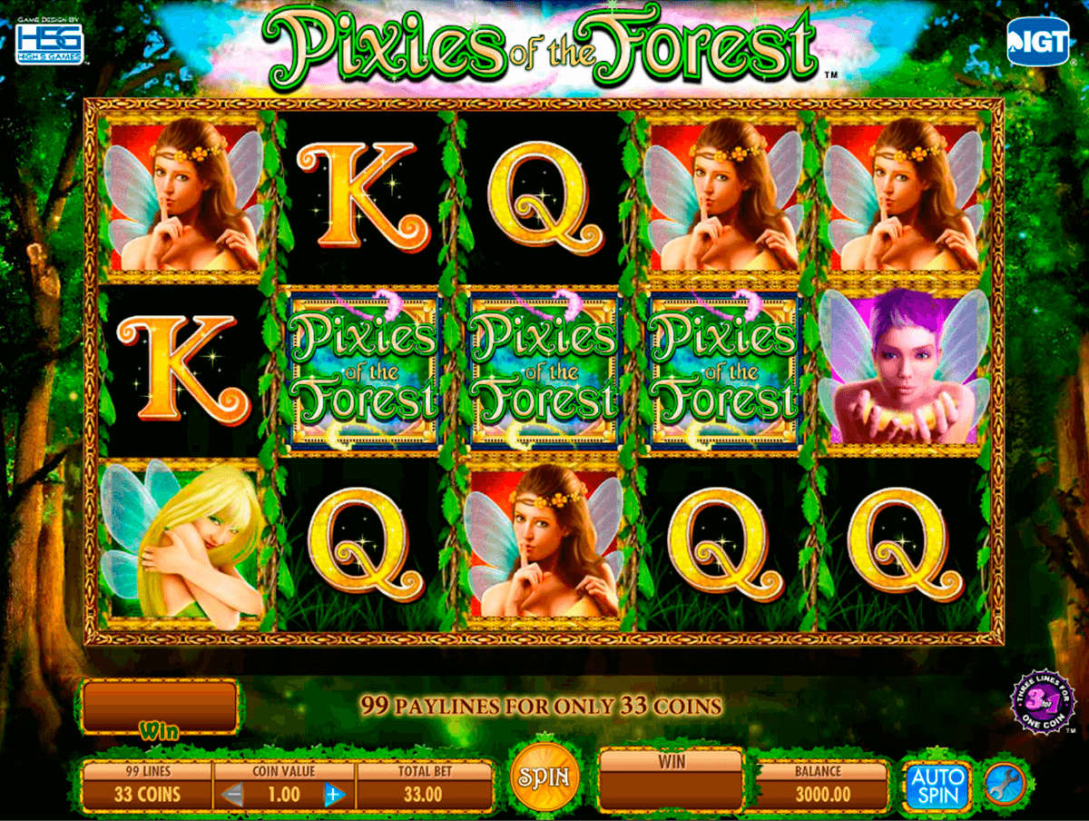 pixies of the forest igt casino