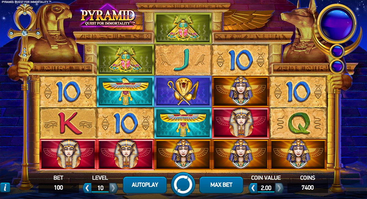 pyramid quest for immortality netent casino
