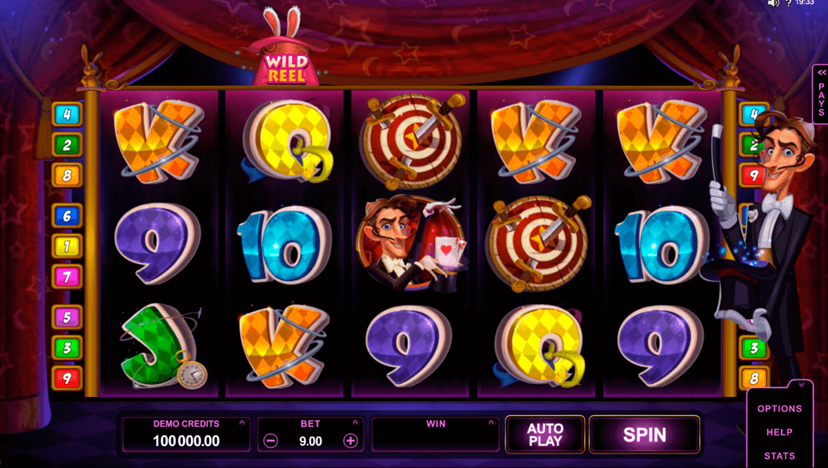 rabbit in the hat microgaming casino