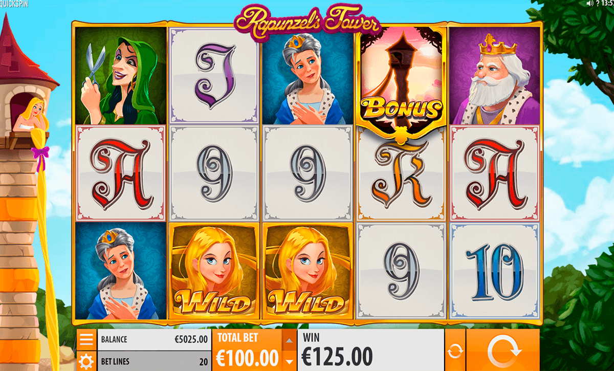 rapunzels tower quickspin casino