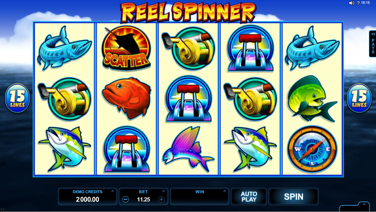 reel spinner microgaming casino