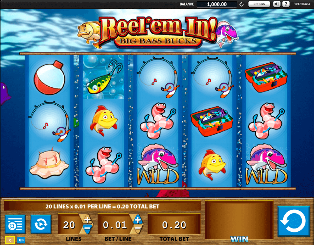 reelem in big bass bucks wms casino
