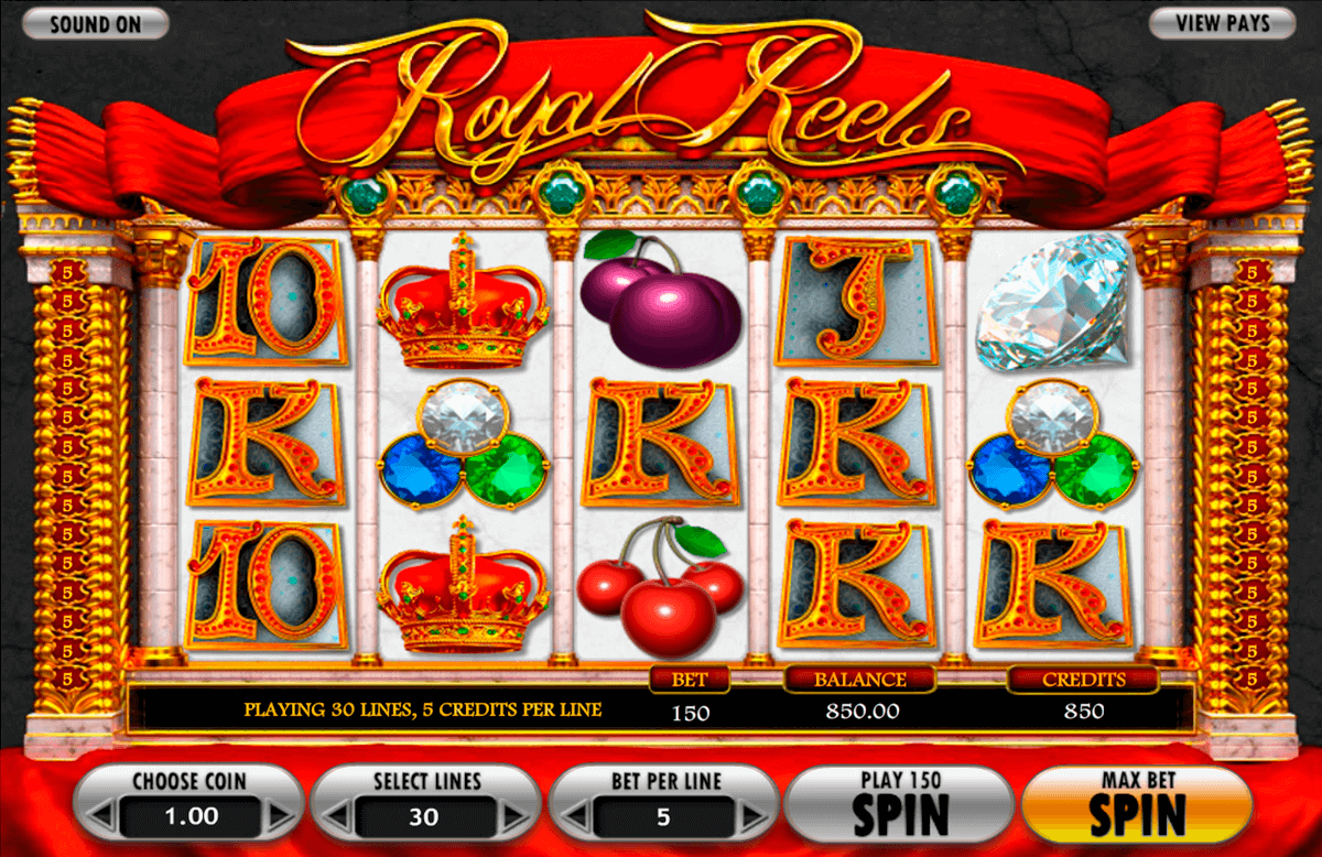 royal reels betsoft casino