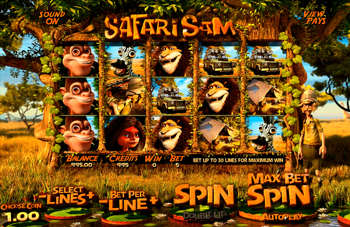 safari sam betsoft casino