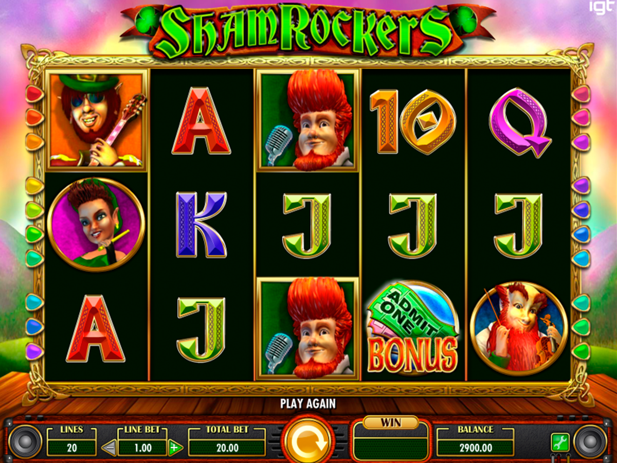 shamrockers igt casino