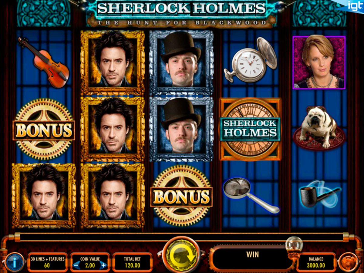 sherlock holmes the hunt for blackwood igt casino