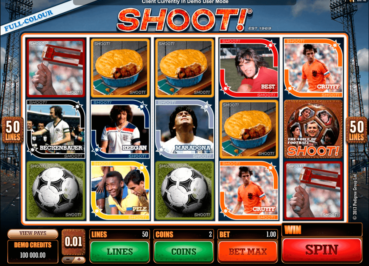 shoot microgaming casino