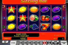 sizzling hot novomatic casino