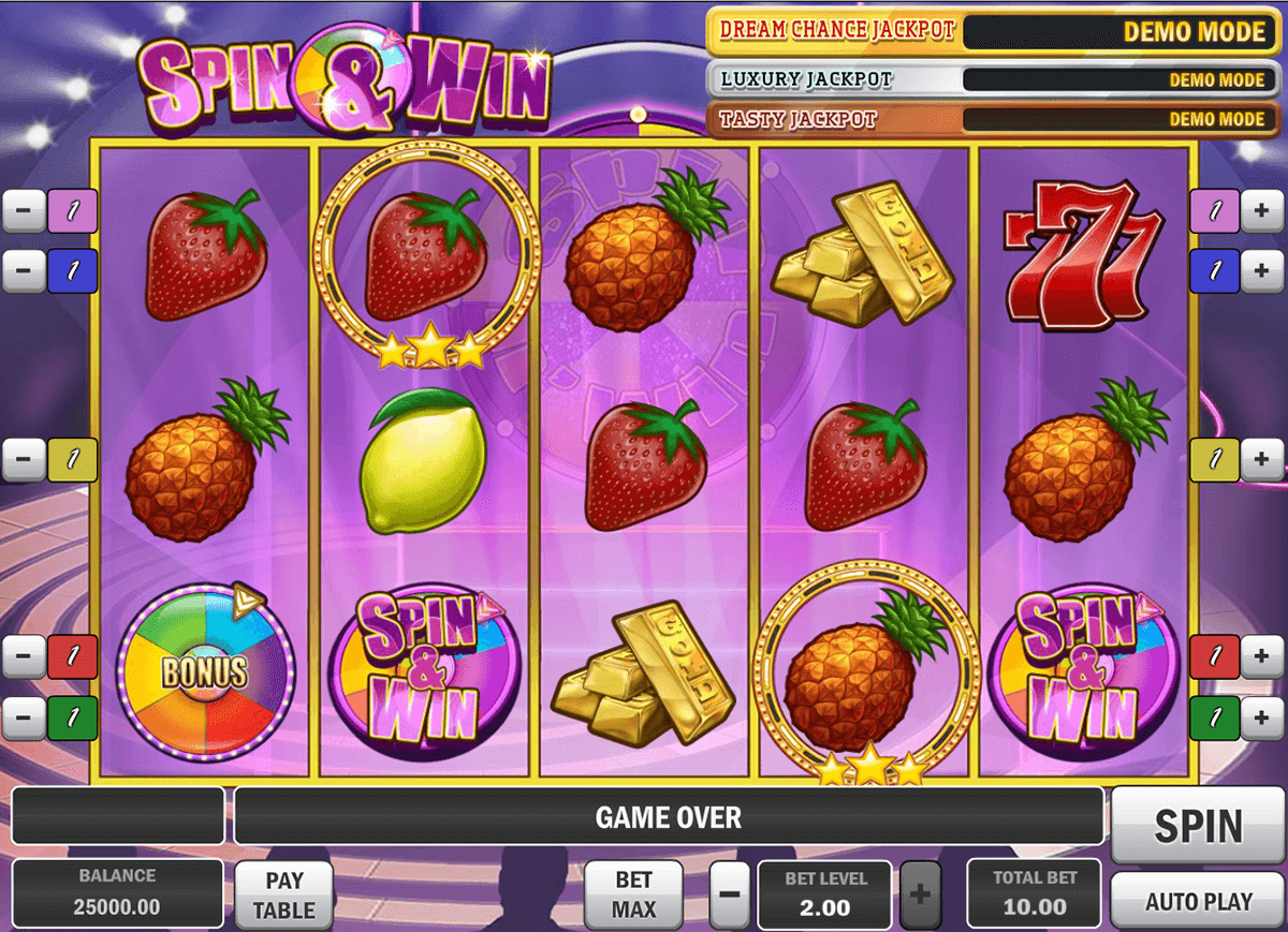 spin and win playn go casino