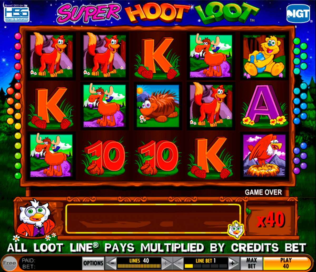 super hoot loot igt casino
