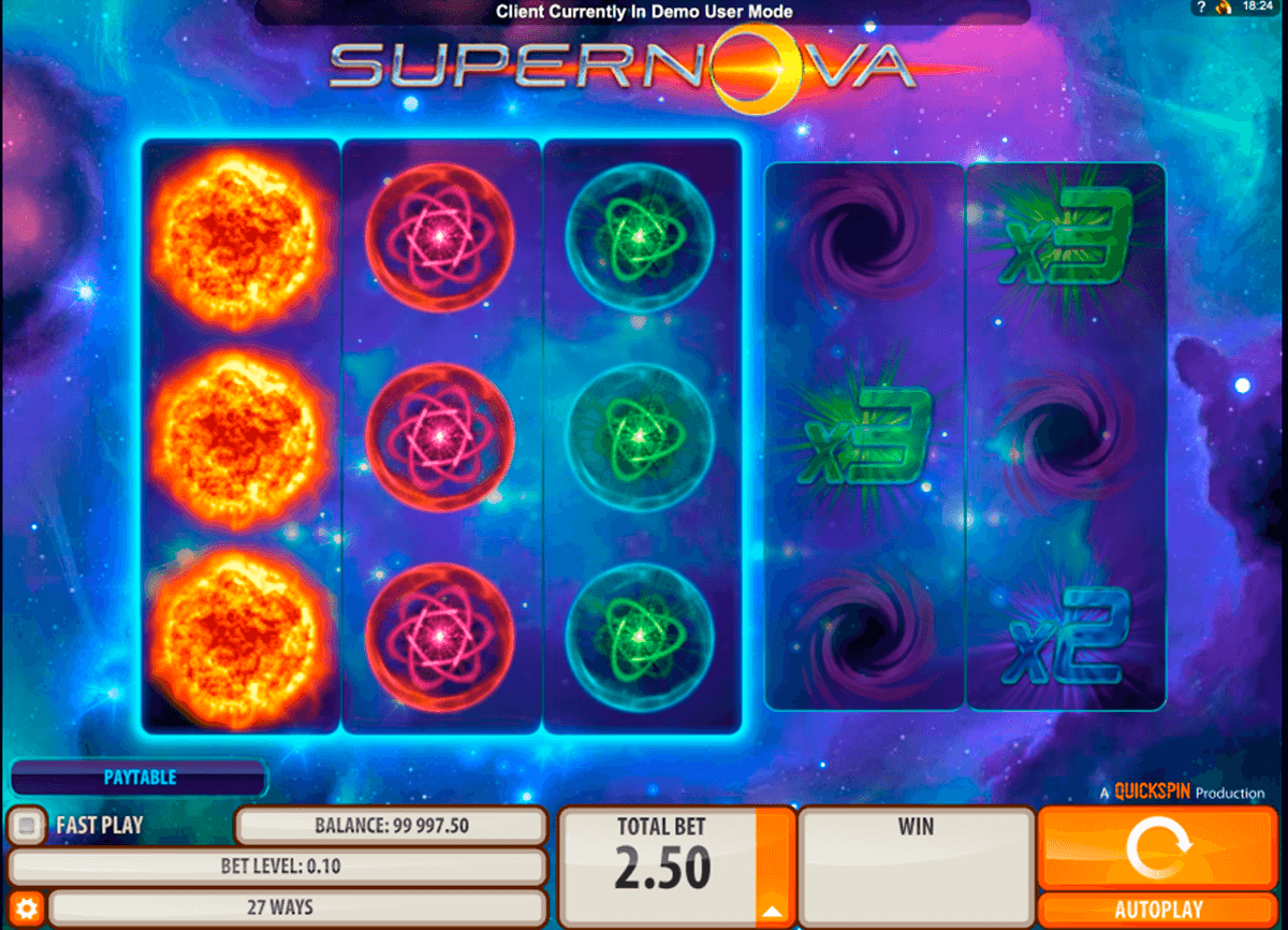 supernova quickspin casino