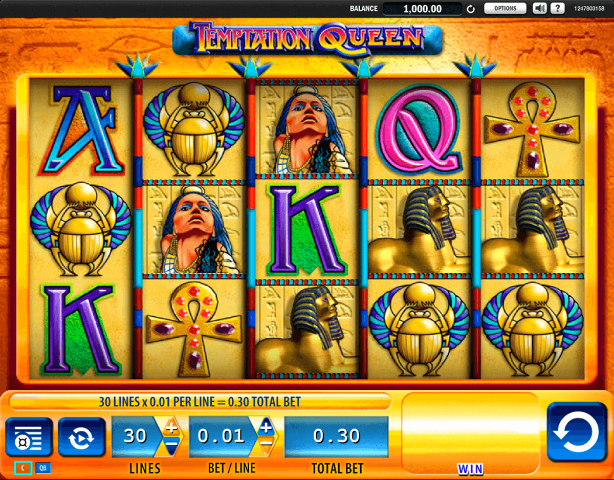 temptation queen wms casino