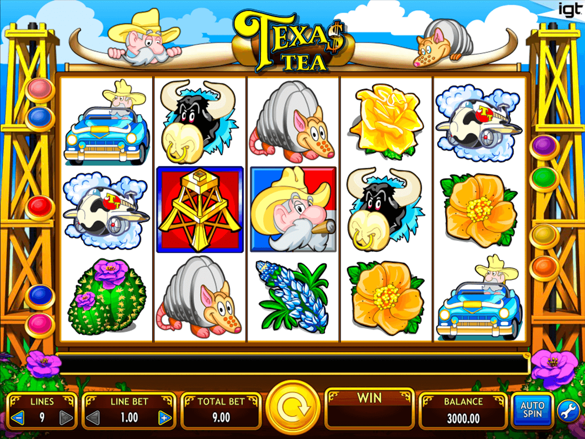 texas tea igt casino