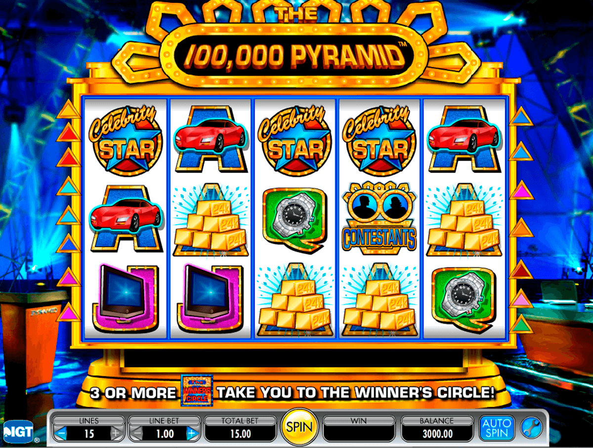 the 100000 pyramid igt casino