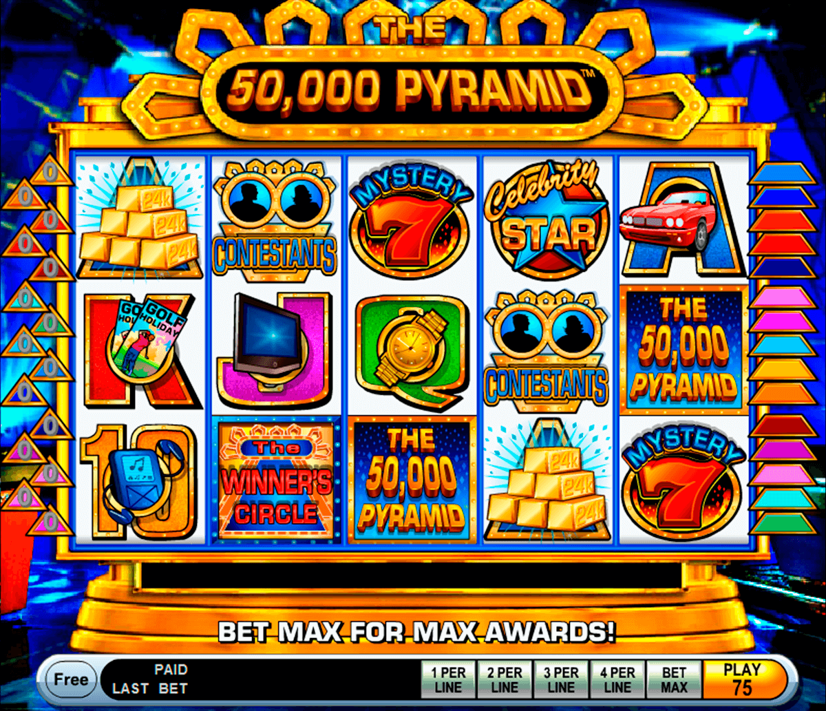 the 50000 pyramid igt casino