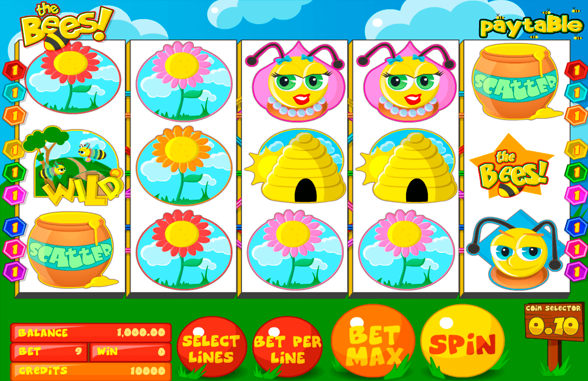 the bees betsoft casino