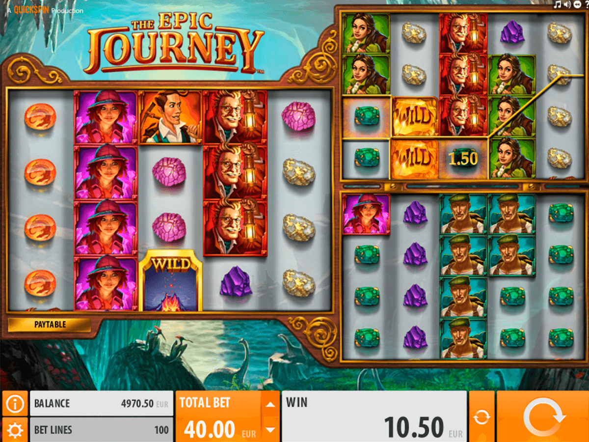 the epic journey quickspin casino