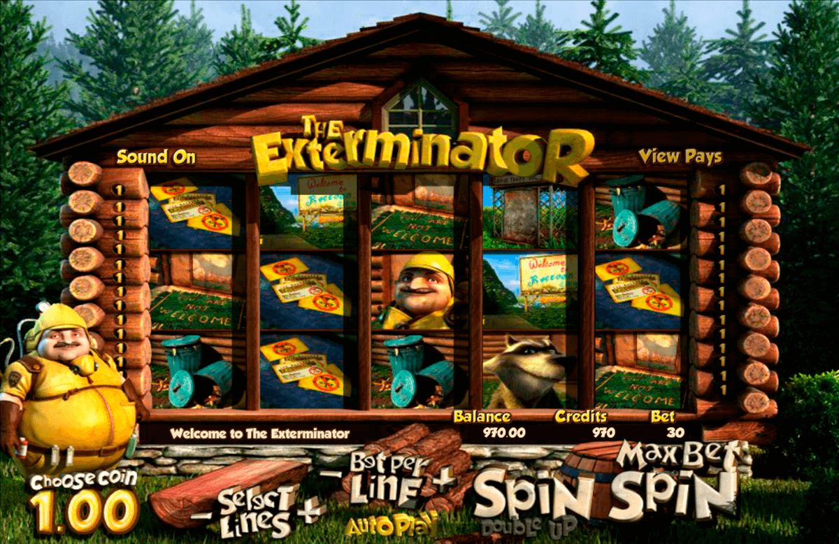 the exterminator betsoft casino