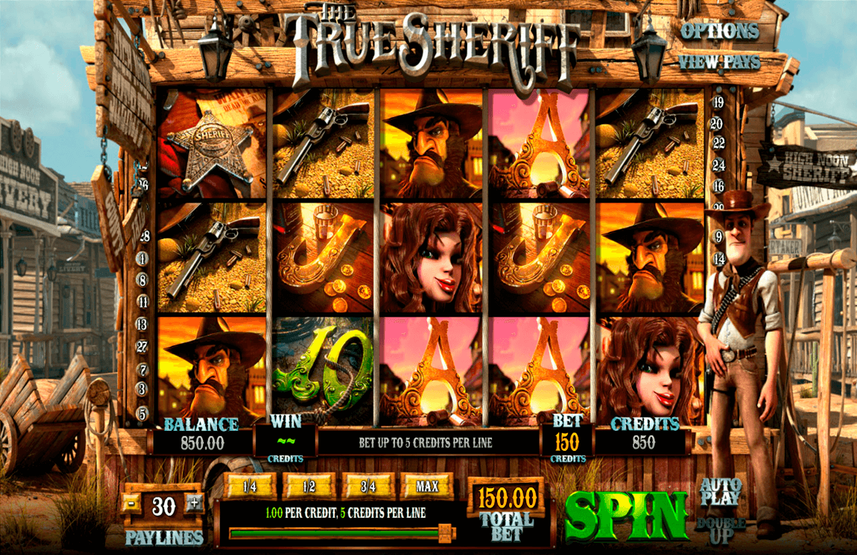 the true sheriff betsoft casino