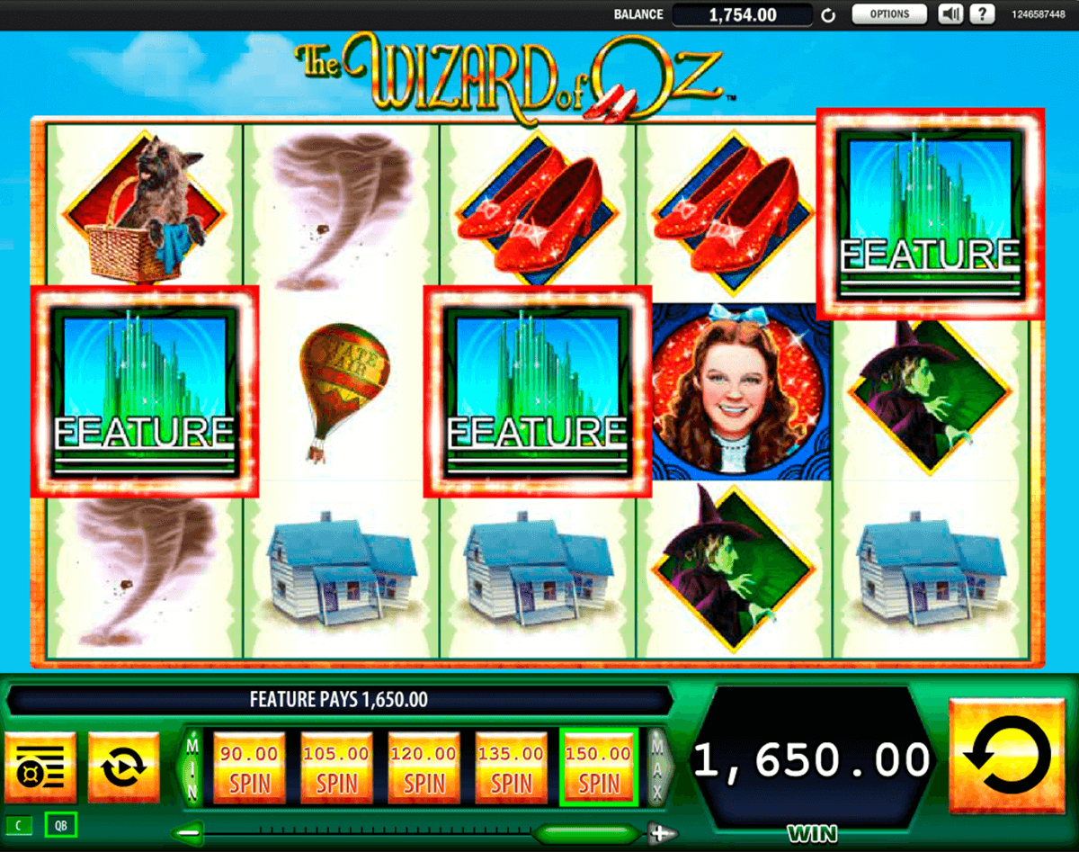 the wizard of oz wms casino