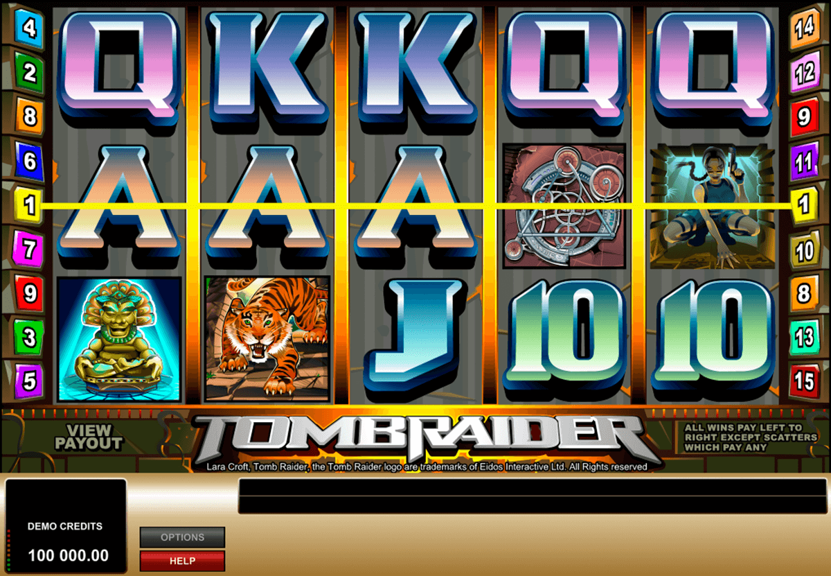tomb raider microgaming casino