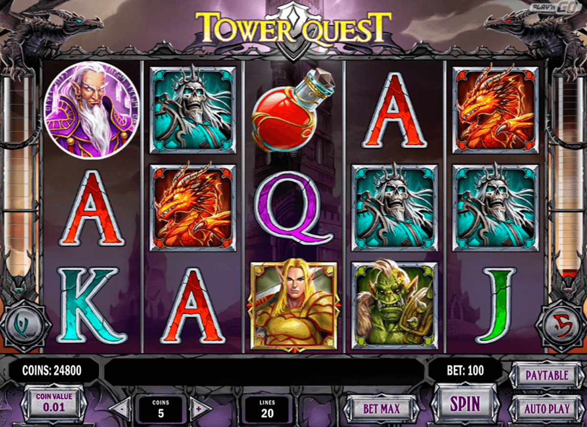 tower quest playn go casino