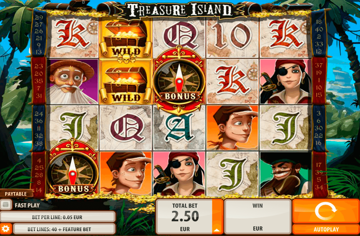treasure island quickspin casino