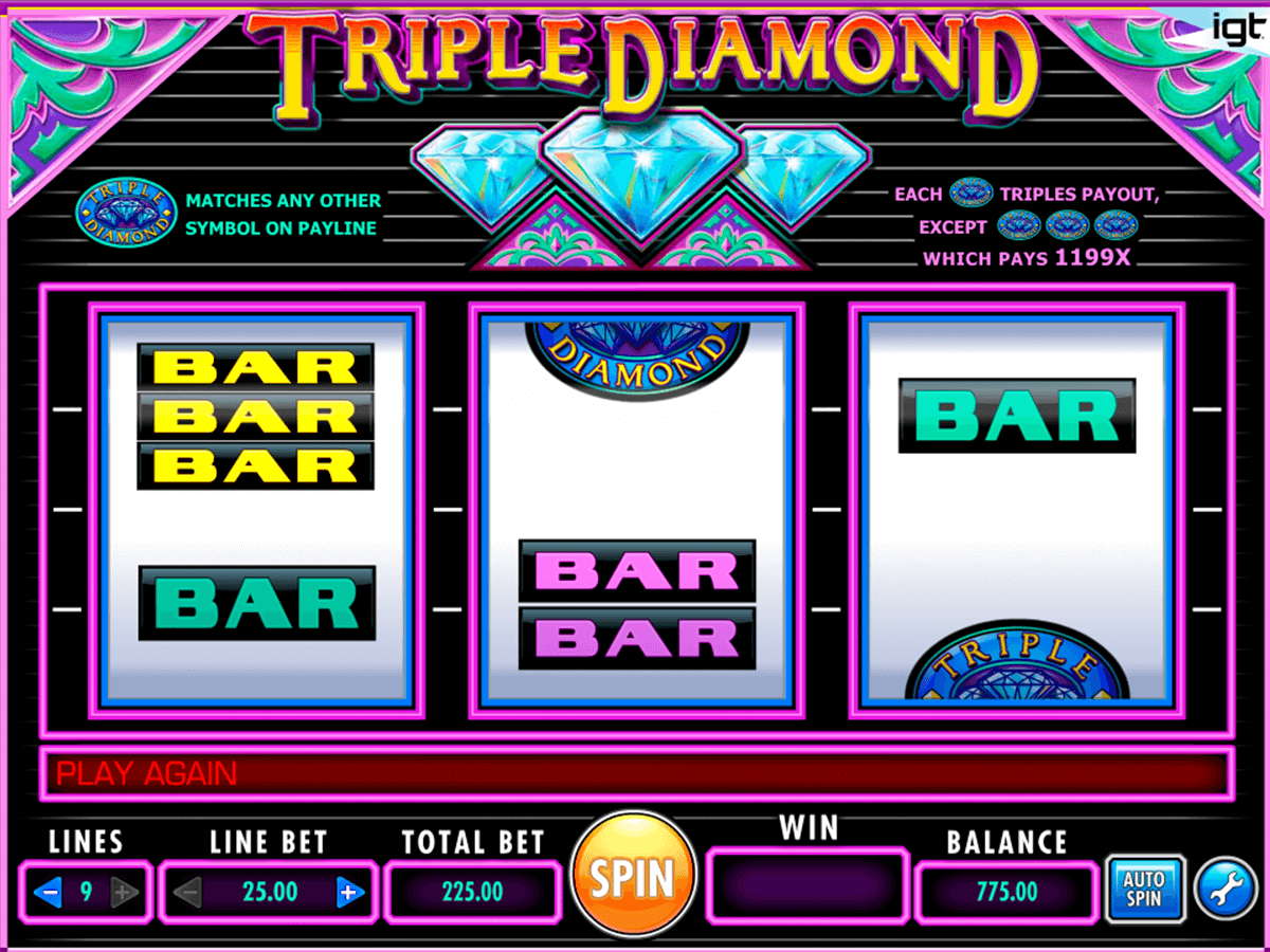 triple diamond igt casino