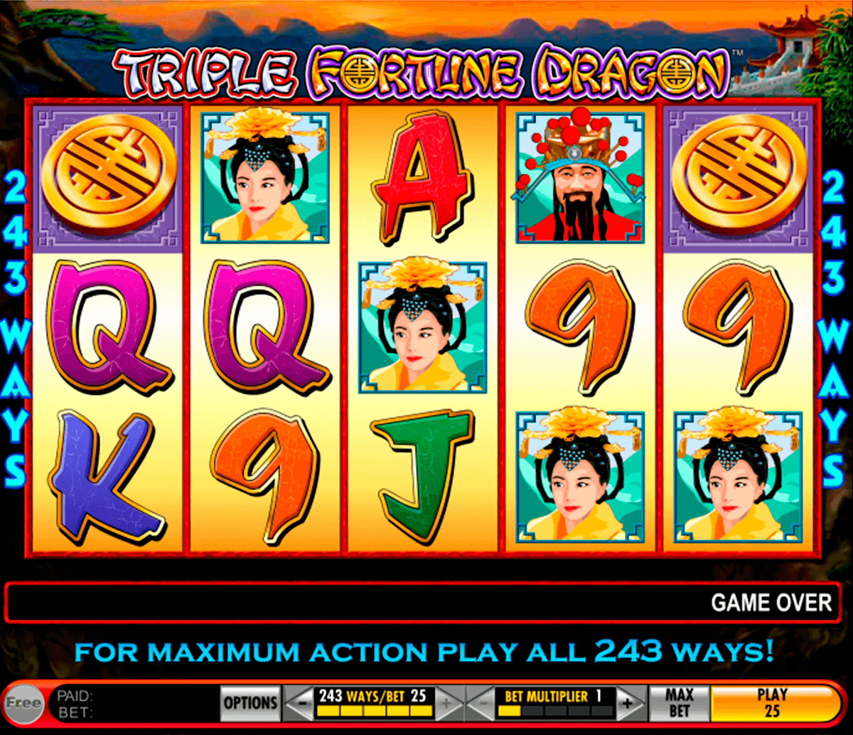 triple fortune dragon igt casino
