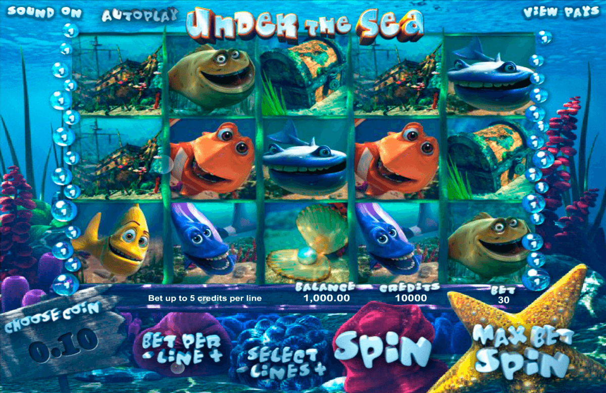 under the sea betsoft casino