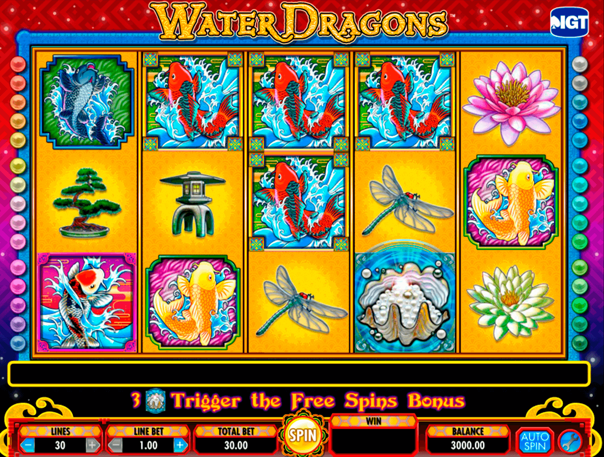water dragons igt casino