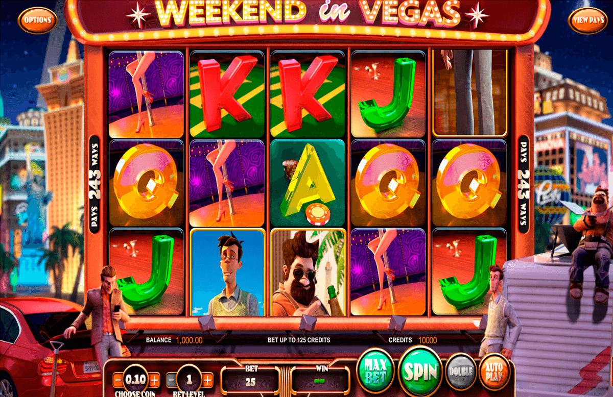 weekend in vegas betsoft casino