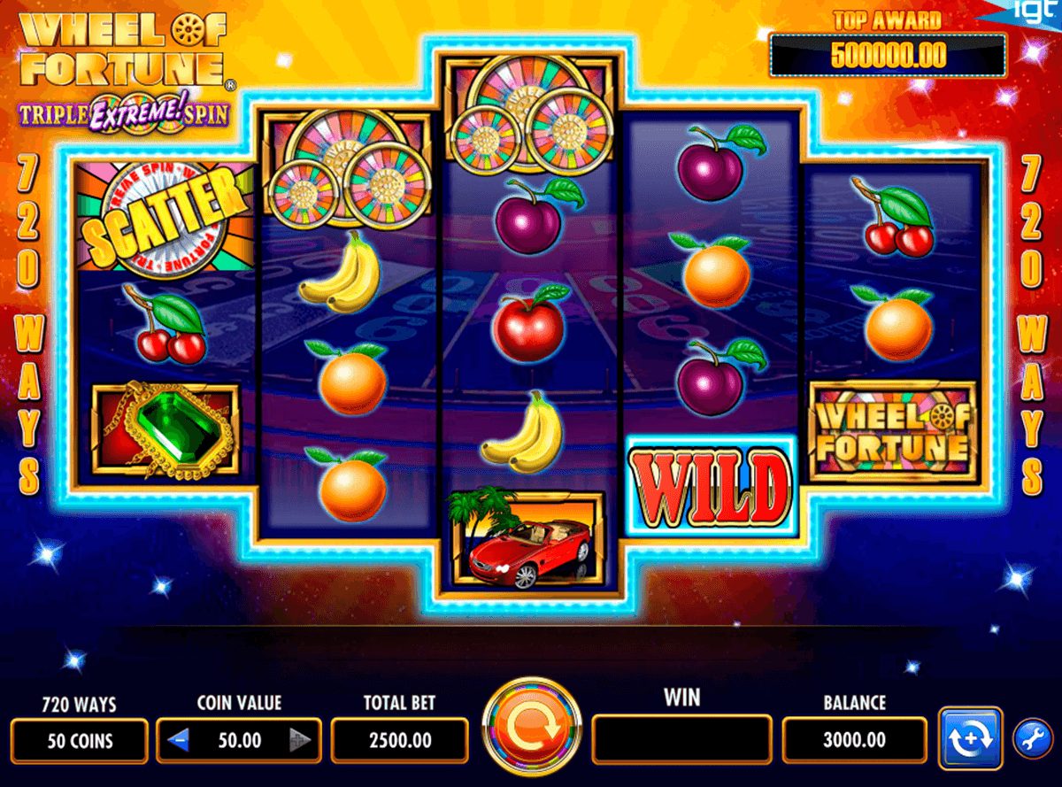 wheel of fortune igt casino
