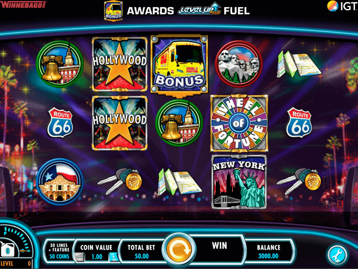 wheel of fortune on tour igt casino