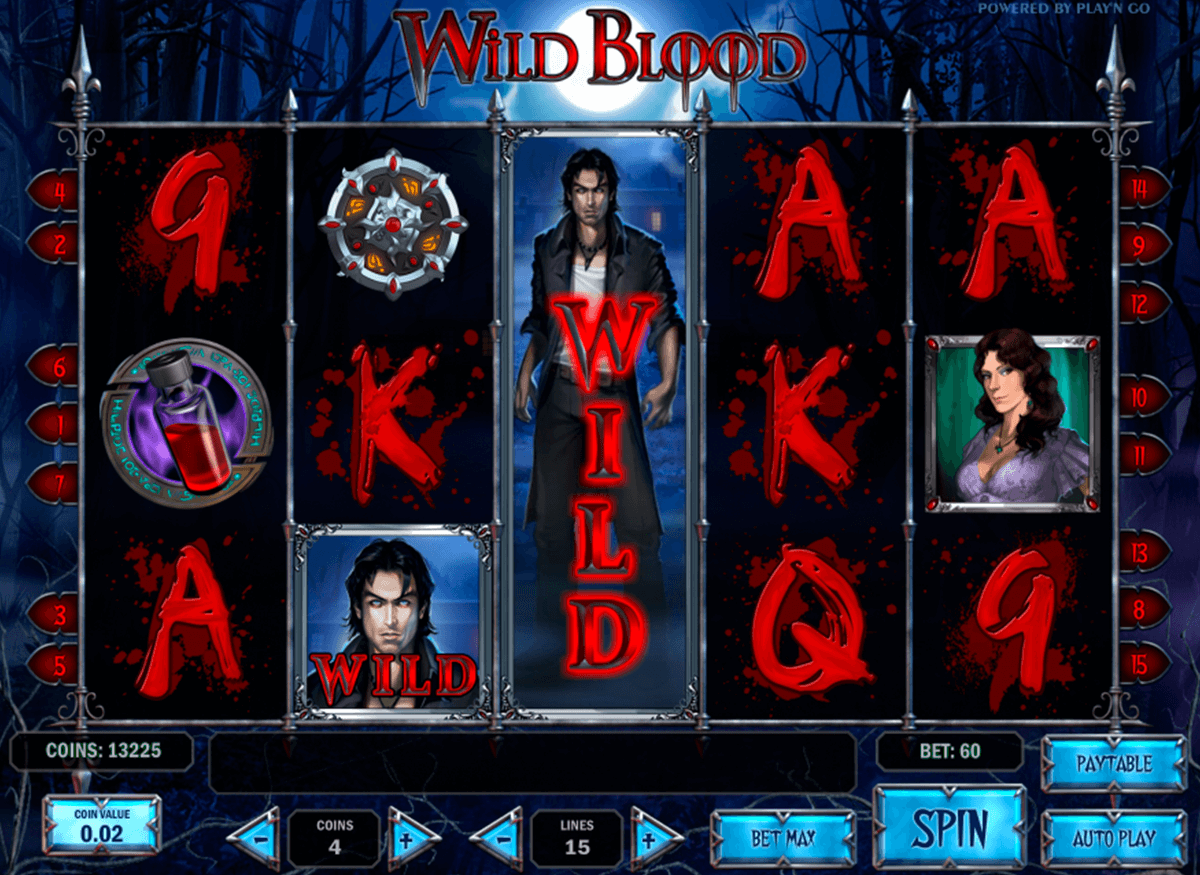 wild blood playn go casino