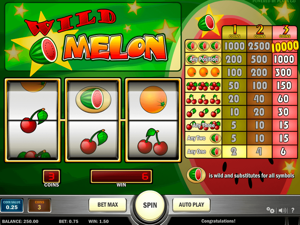 wild melon playn go casino